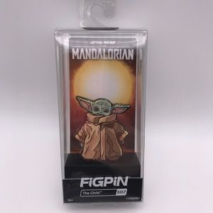 Star Wars Mandalorian The Child FiGPiN 3in #507